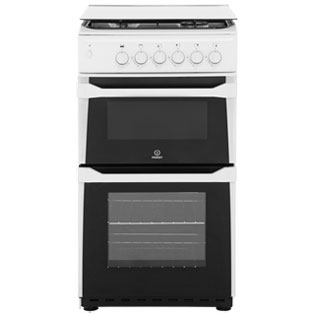 Indesit Gas Cooker - White - A+ Rated