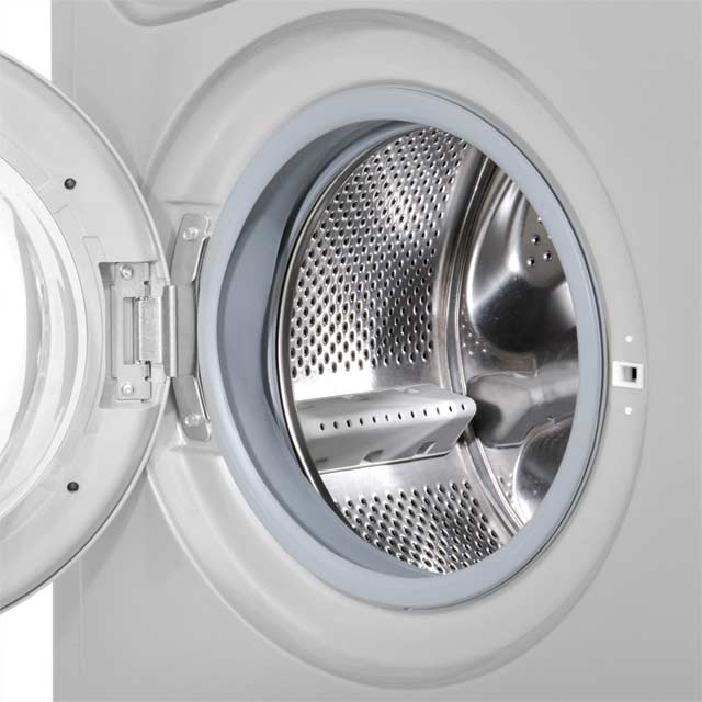 Indesit Eco Time IWDC6125 6Kg / 5Kg Washer Dryer - White - IWDC6125_WH - 5