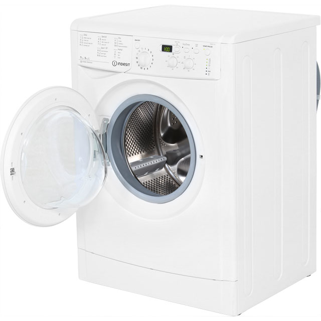 indesit iwdd7123 advance free standing 7kg washer dryer. Black Bedroom Furniture Sets. Home Design Ideas