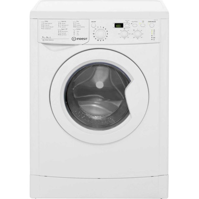 Indesit Eco Time 7Kg / 5Kg Washer Dryer - White - B Rated