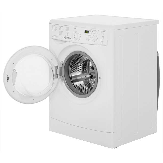 Indesit Eco Time IWDD7143 Washer Dryer - White - IWDD7143_WH - 2