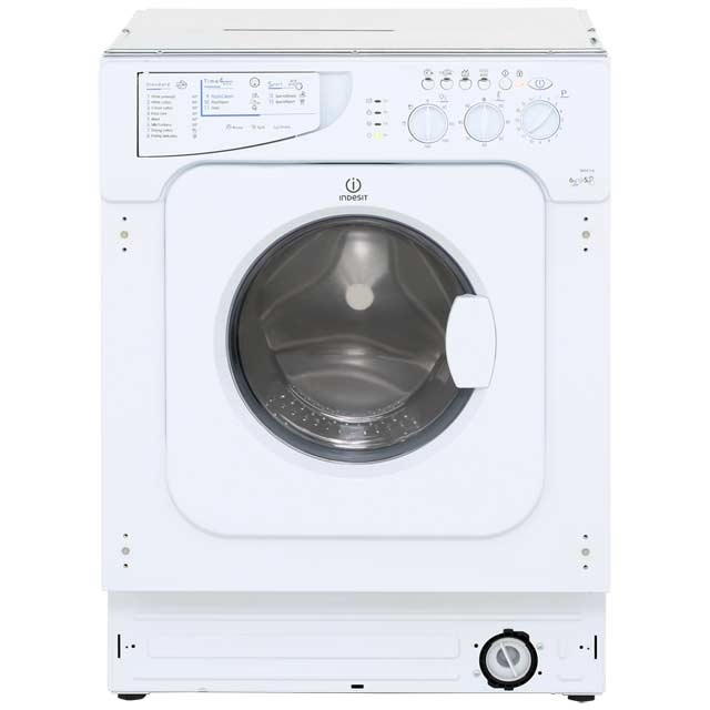 Indesit Eco Time Integrated Washer Dryer in White