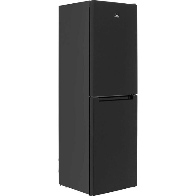 Indesit LD85F1K.1 50/50 Frost Free Fridge Freezer - Black - A+ Rated - LD85F1K.1_BK - 1