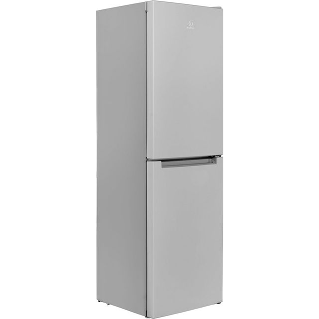Indesit LD85F1S.1 50/50 Frost Free Fridge Freezer - Silver - A+ Rated