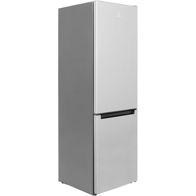Indesit LR8S1S.1 60/40 Fridge Freezer - Silver - A+ Rated - LR8S1S.1_SI - 1