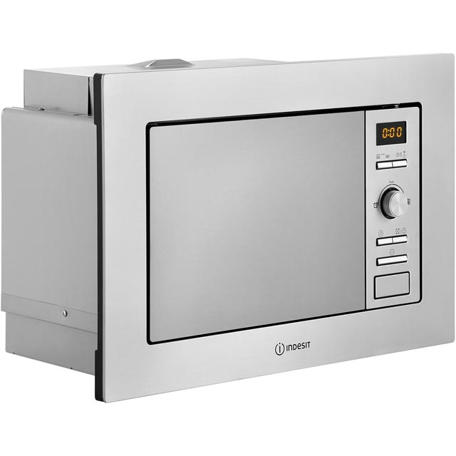 Indesit MWI122.2X Built In Microwave - Stainless Steel - MWI122.2X_SS - 2