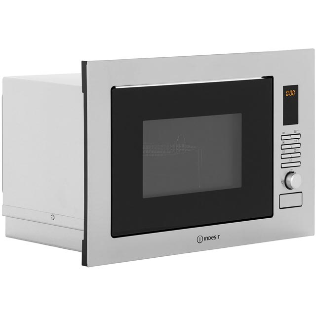 Indesit MWI222.2X Built In Microwave - Stainless Steel - MWI222.2X_SS - 2