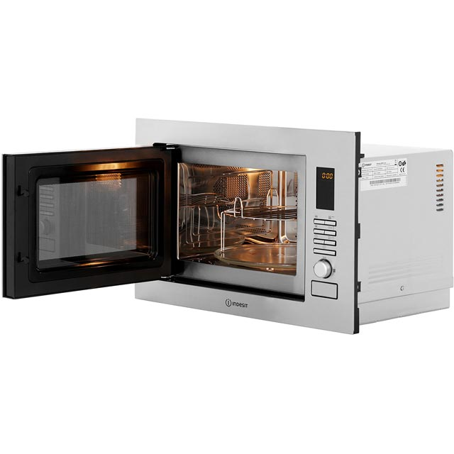 Indesit MWI222.2X Built In Microwave - Stainless Steel - MWI222.2X_SS - 5