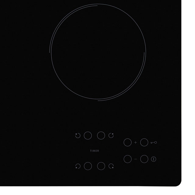 Indesit RI161C Built In Ceramic Hob - Black - RI161C_BK - 2