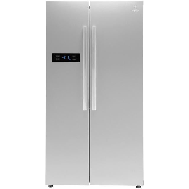 Indesit SXBIE920 American Fridge Freezer - Silver - A+ Rated - SXBIE920_SI - 1