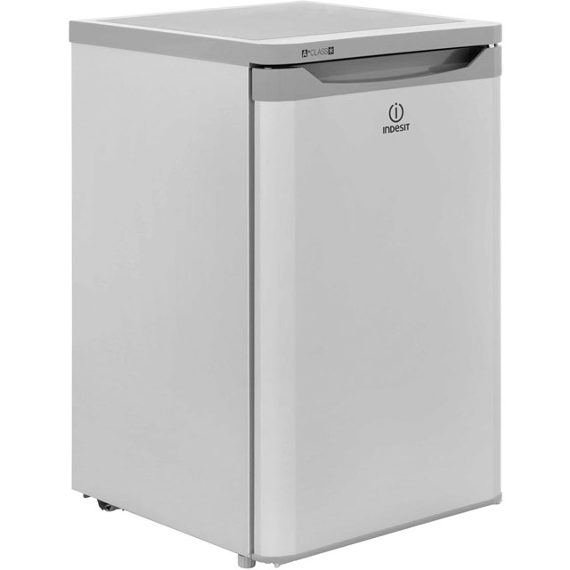 Indesit TFAA10S.1 Fridge with Ice Box - Silver - A+ Rated