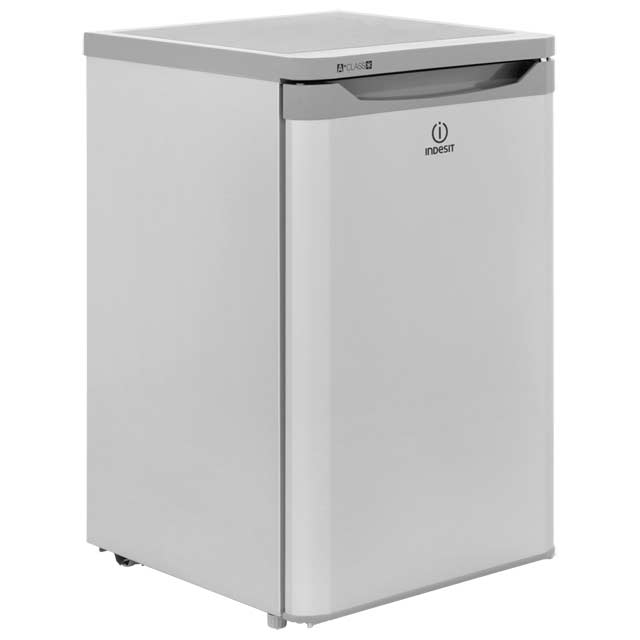 Indesit TFAA10S Fridge with Ice Box - Silver - A+ Rated