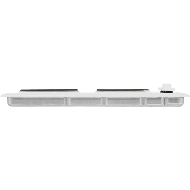 Indesit TI60W Built In Solid Plate Hob - White - TI60W_WH - 3