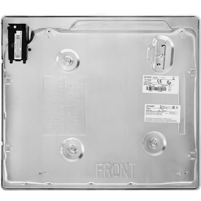 Indesit TI60W Built In Solid Plate Hob - White - TI60W_WH - 5