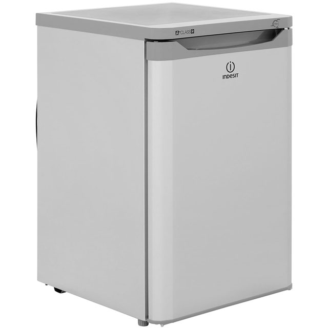 Indesit TZAA10S.1 Under Counter Freezer - Silver - TZAA10S.1_SI - 1