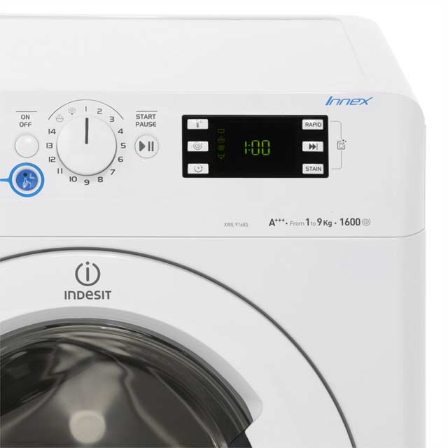 Indesit Innex XWE91683XWWG 9Kg Washing Machine - White - XWE91683XWWG_WH - 4