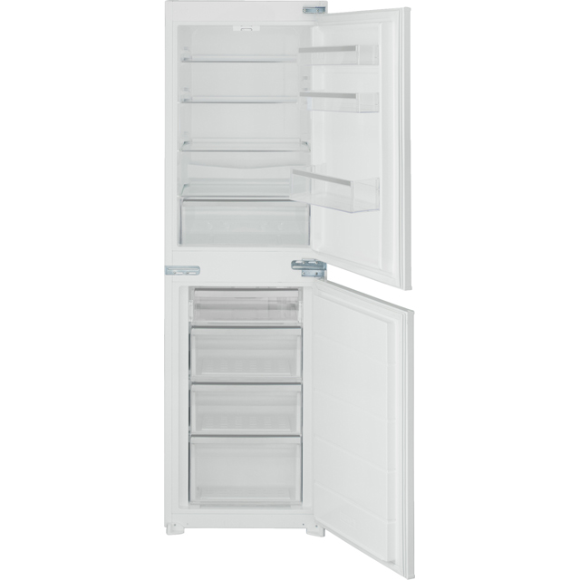 Stoves Integrated 50/50 Frost Free Fridge Freezer with Sliding Door Fixing Kit - White - A+ Rated
