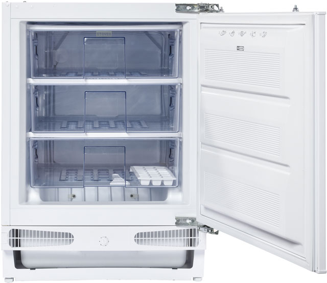 Stoves INTFRZ Integrated Under Counter Freezer with Fixed Door Fixing Kit - A+ Rated