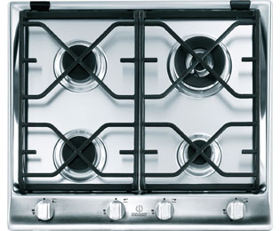 Product image for Indesit Prime IP641SCIX 59cm Gas Hob - Stainless Steel