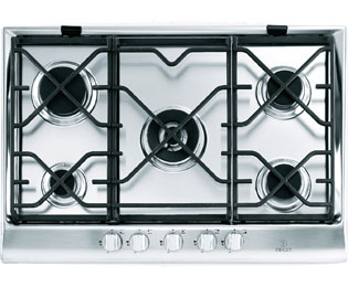 Product image for Indesit Prime IP751SCIX 75cm Gas Hob - Stainless Steel