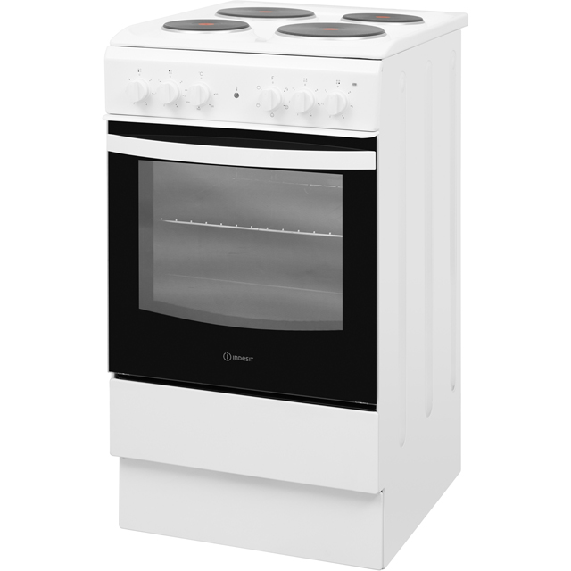 Indesit Cloe IS5E4KHW Electric Cooker - White - IS5E4KHW_WH - 1