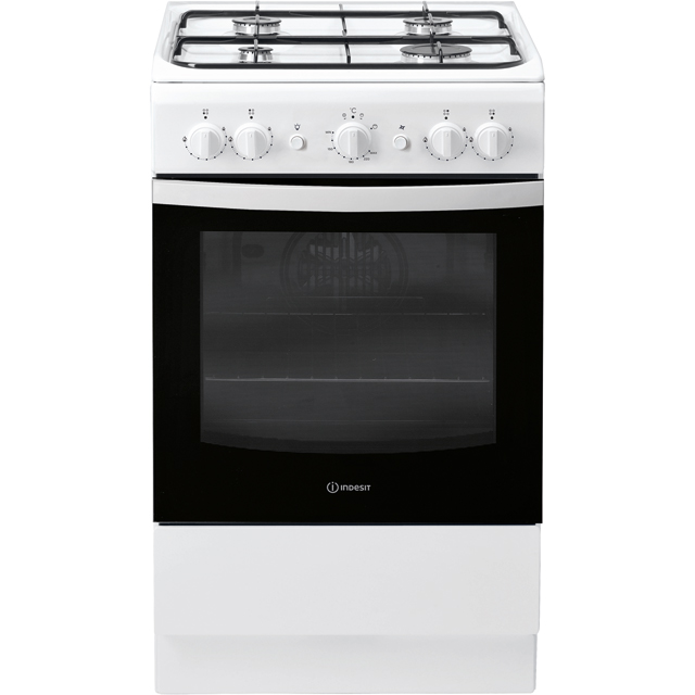 Indesit Cloe 50cm Gas Cooker - White - A Rated