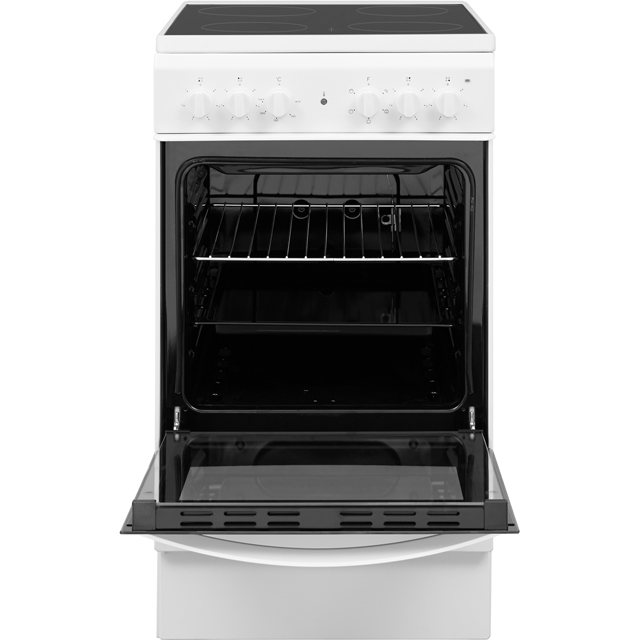 Indesit Cloe IS5V4KHW Electric Cooker - White - IS5V4KHW_WH - 3