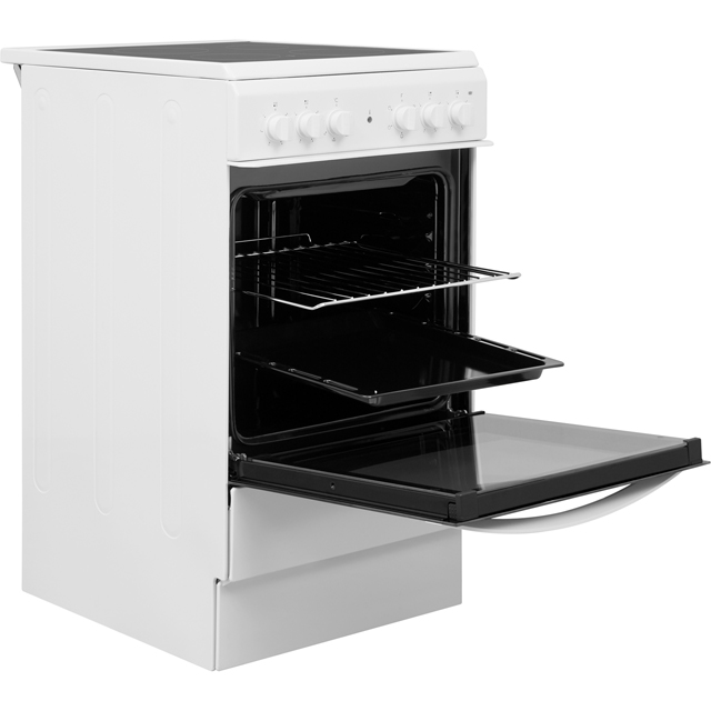 Indesit Cloe IS5V4KHW Electric Cooker - White - IS5V4KHW_WH - 4