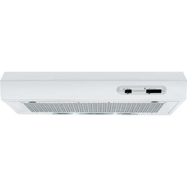 Indesit ISLK66FLSW Built In Visor Cooker Hood - White - ISLK66FLSW_WH - 1