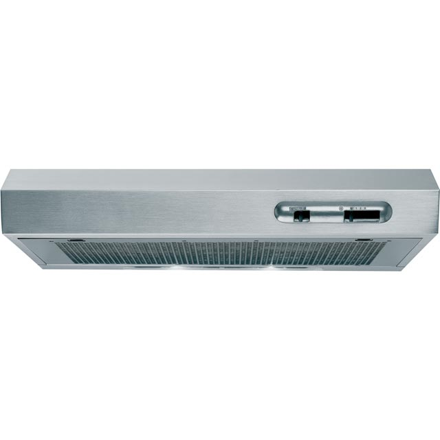 Indesit ISLK66LSX Built In Visor Cooker Hood - Stainless Steel - ISLK66LSX_SS - 1