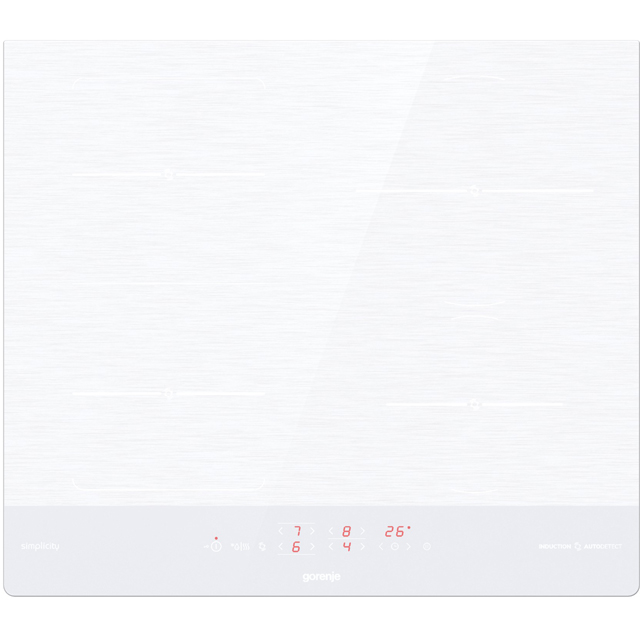 Gorenje IT643SYW 60cm Induction Hob - White - IT643SYW_WH - 1
