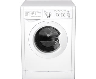 Indesit Eco Time IWDC6125 Free Standing Washer Dryer in White