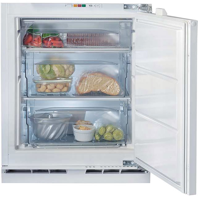 Indesit Integrated Under Counter Freezer with Fixed Door Fixing Kit - A+ Rated