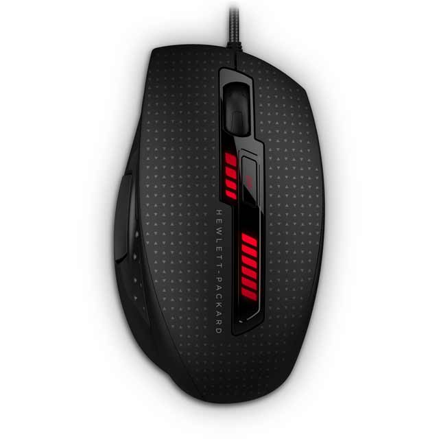HP X9000 Omen Wired USB Laser Gaming Mouse - Black