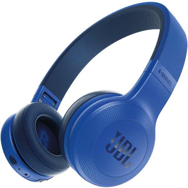 JBL E45BT On-Ear Wireless Bluetooth Headphones - Blue