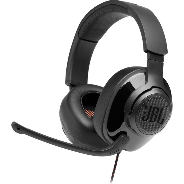 JBL Quantum 200 Gaming Headset - Black
