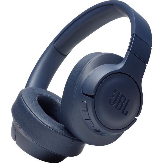 JBL TUNE 750BTNC Over-Ear Wireless Bluetooth Headphones - Blue