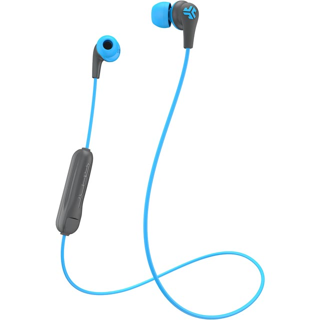 JLAB Pro BT In-ear Wireless Headphones - Grey / Blue - JBUDSPROBT-BLUGRY-BOX - 1