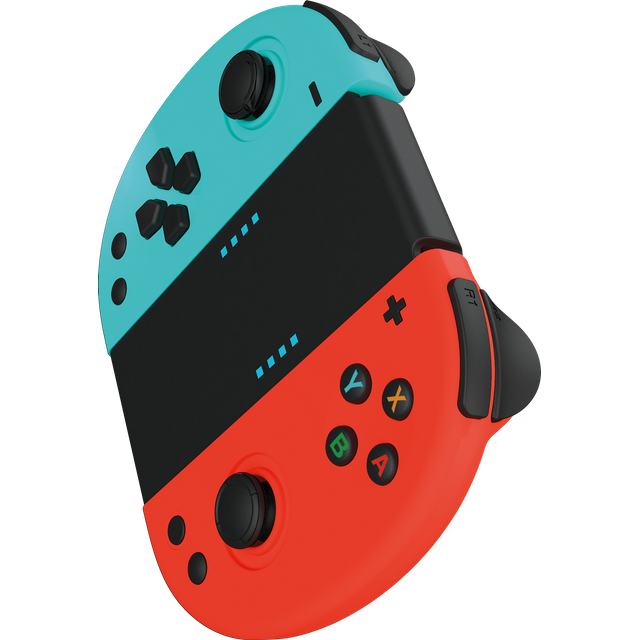 Image of Gioteck JC-20 Gaming Controller For Nintendo Switch - Red / Blue