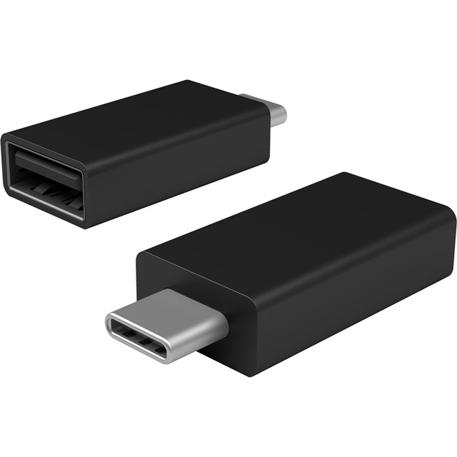 Microsoft Surface USB-C to USB 3.0 Adapter - Black - JTY-00002 - 1