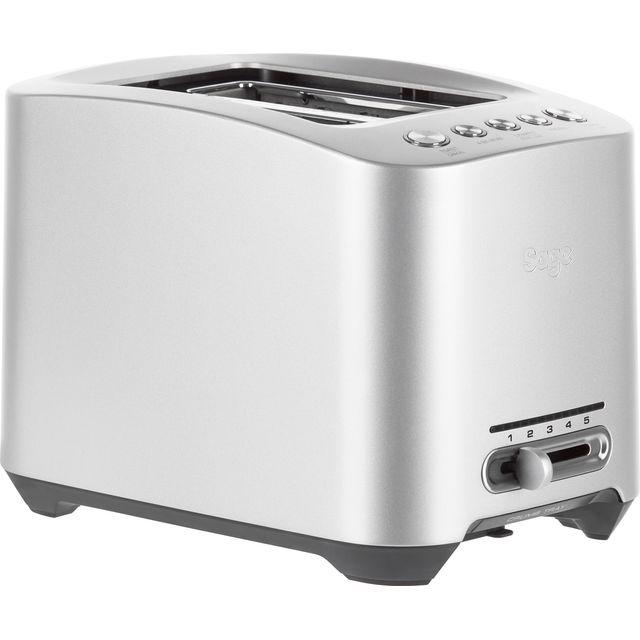 Sage The Smart Toast 2 Slice BTA825UK 2 Slice Toaster - Stainless Steel