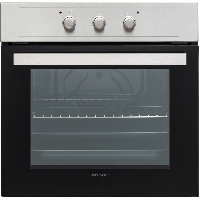 Sharp K-60M15IL2-EU Built In Electric Single Oven - Stainless Steel - A Rated - K-60M15IL2-EU_SS - 1