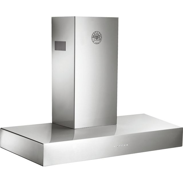 Image of Bertazzoni Master Series K100-CON-X-A 100 cm Chimney Cooker Hood - Stainless Steel - A Rated