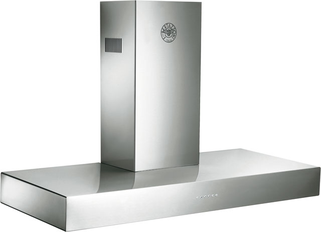 Bertazzoni Master Series K120-CON-X-A Built In Chimney Cooker Hood - Stainless Steel - K120-CON-X-A_SS - 1