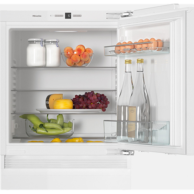 Miele K31222Ui Integrated Under Counter Fridge - Fixed Door Fixing Kit - White - A++ Rated