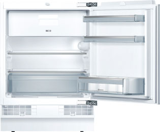 NEFF N50 K4336X8GB Integrated Under Counter Fridge with Ice Box - Fixed Door Fixing Kit - A++ Rated