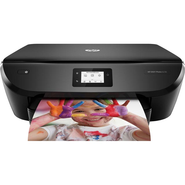 HP Envy Photo 6230 Inkjet Printer - Black - K7G25B#BHC - 1