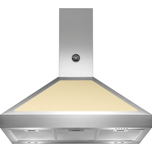 Bertazzoni Master Series K90-AM-HCR-A Built In Chimney Cooker Hood - Cream - K90-AM-HCR-A_CR - 1