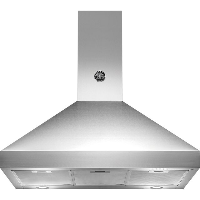 Bertazzoni Master Series K90-AM-HX-A/19 Built In Chimney Cooker Hood - Stainless Steel - K90-AM-HX-A/19_SS - 1