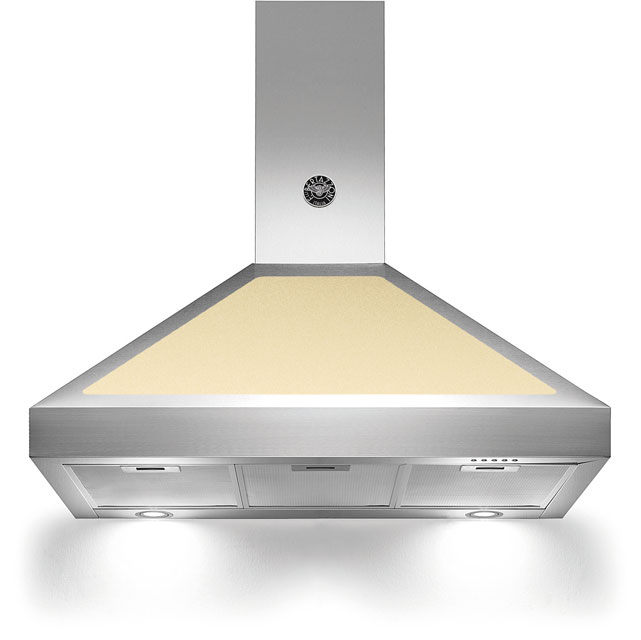 Bertazzoni Master Series K90-AM-HCR-A 90 cm Chimney Cooker Hood - Cream - A Rated - K90-AM-HCR-A_CR - 1